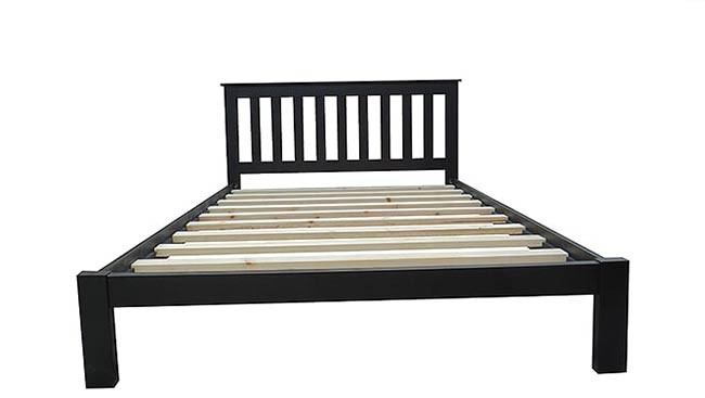 Classic Black Bed Frame (5 sizes)