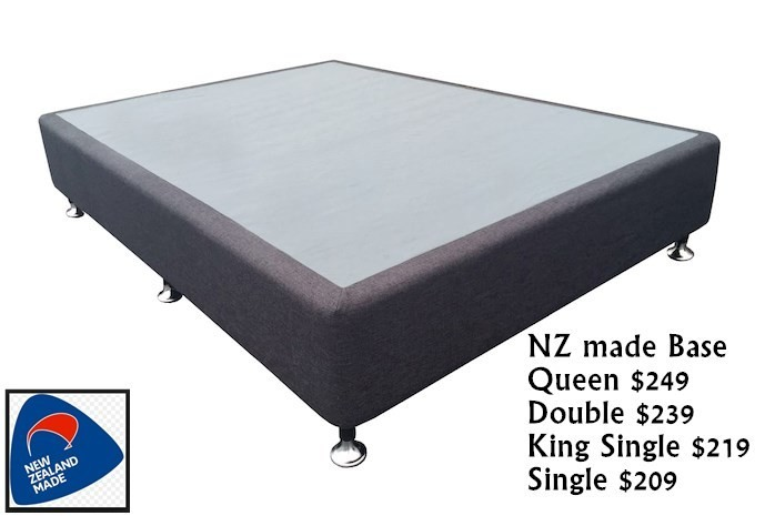 Sleepmax NZ MADE Base(4 sizes)