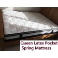 Latex Pocket Spring Mattress Queen