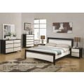 Patric Bed Frame(4 sizes)/Bedside Table/Tallboy/Dressing Table & Mirror